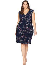 Lauren by Ralph Lauren - Plus Size Adara Avendida Floral - Lyst