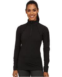 Arc'teryx - Rho Lt Zip Neck (black) Women's Clothing - Lyst