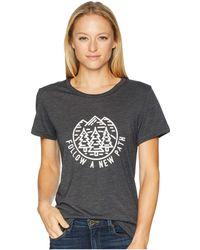 Tentree - New Path Tee (lunar Rock) Women's T Shirt - Lyst