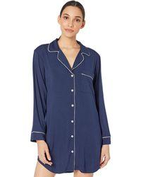 Eberjey Gisele Sleepshirt - Blue