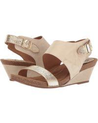 Söfft - Vanita (light Grey/platino Euforia/rasputin) Women's Wedge Shoes - Lyst
