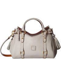 Dooney & Bourke Florentine Small Satchel - White