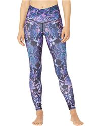 NIYAMA SOL Midnight Bloom Leggings - Blue