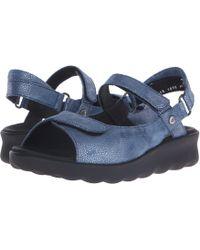Wolky - Pichu (black Circles) Women's Sandals - Lyst