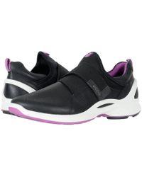 Ecco - Biom Fjuel Band (black/black Yak Leather Textile) Women's Shoes - Lyst
