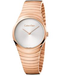 Calvin Klein - Whirl Watch - K8a23646 (silver/rose Gold) Watches - Lyst