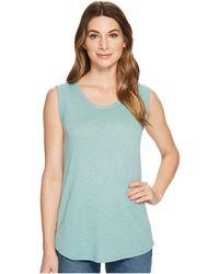 Alternative Apparel - Eco Jersey Cap Sleeve Crew (jade Sea Overdye Oatmeal) Women's Clothing - Lyst