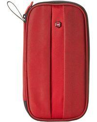 Victorinox - Travel Organizer W/ Rfid Protection (red) Wallet - Lyst