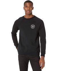 Brixton Oath V Crew Clothing - Black