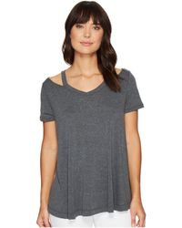 Culture Phit - Lacey Short Sleeve Cut Out Top - Lyst