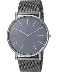 Skagen - Signatur - Skw6420 (gunmetal) Watches - Lyst