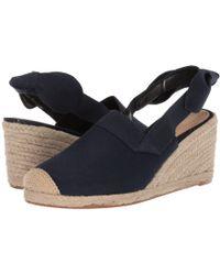 2a7f53d3bb4 Lauren by Ralph Lauren - Helma (dark Midnight Linen) Women s Shoes - Lyst