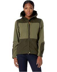 Fjallraven - Keb Jacket (deep Forest/laurel Green) Women's Coat - Lyst