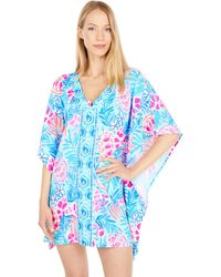 Lilly Pulitzer Skyla Cover-up - Blue