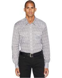 Wrangler - 20x Competition Advance Comfort Snap Print (black/white) Men's Clothing - Lyst
