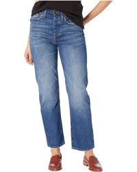 Madewell The Dadjean In Norwalk Wash - Blue