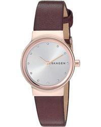 Skagen - Freja Crystal Markers - Skw2742 (red) Watches - Lyst