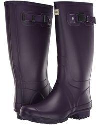 HUNTER Huntress Field Boot - Purple