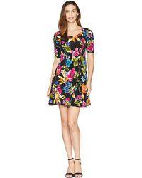 Karen Kane - Botanica Print A-line Dress (print) Women's Dress - Lyst