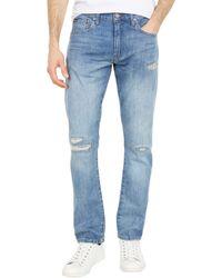 Polo Ralph Lauren Varick Slim Straight Jeans In Wilkes - Brown