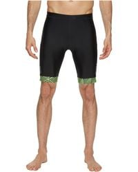 2XU - Perform 9 Tri Shorts (black/geo Neon Green) Men's Workout - Lyst