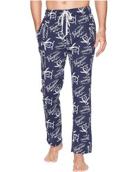 Original Penguin - Lounge Pants - Logo (medieval Blue) Men's Pajama - Lyst