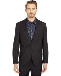 Kenneth Cole Reaction Techni-cole Stretch Suit Separate Blazer - Black
