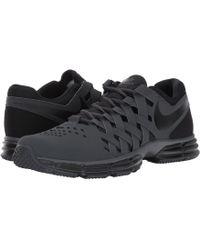 lyst nike rivoluzione 3 forte grey / nero / bianco, scarpe da corsa 9 uomini noi