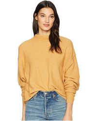 9163a01284cc8 Free People - Break Away Pullover (grey) Women s Long Sleeve Pullover - Lyst