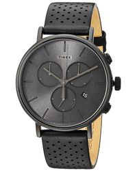 Timex - Fairfield Supernova Chrono (brown/silver) Watches - Lyst