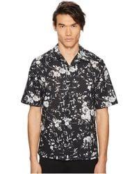 McQ - Floral Billy Shirt (grey) Men's Clothing - Lyst