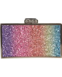Nina - Calypso (rainbow) Clutch Handbags - Lyst