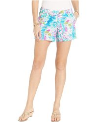 Lilly Pulitzer - Callahan Shorts (multi Postcards From Positano) Women's Shorts - Lyst