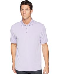 a3500928 Bugatchi - Short Sleeve Polynosic Polo (lavender) Men's Clothing - Lyst
