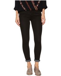 Free People - Gummy Denim High-rise Roller Crop Jeans - Lyst