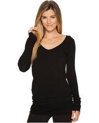 Hard Tail - Sexy Long Skinny Tee (diagonal Butterfly 2) Women's T Shirt - Lyst