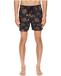 9dedafe495 Vilebrequin - Mahina Prehistoric Fishes Swim Trunk (navy) Men's Swimwear -  Lyst