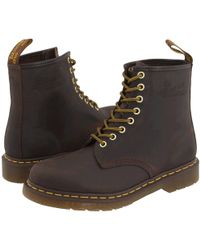 Dr. Martens - 1460 (cherry Red Smooth) Lace-up Boots - Lyst