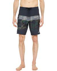 Salty Crew Pinnacle Angler 19 Boardshorts Swimwear - Blue