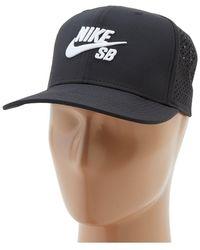 Nike - Performance Trucker Hat (white black black black) Caps - 852fcadf8cbb