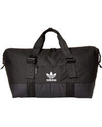 adidas Originals - Originals Weekender Duffel (aop Camo Grey) Bags - Lyst