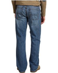 """Lucky Brand - 181 Relaxed Straight 32"""" In Light Cardiff - Lyst"""