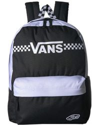 157215e3b2d Lyst - Vans Mickey s 90th Checkerboard Mickey Realm Backpack (white ...