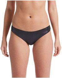 Nike Onyx Flash Reversible Sling Bikini Bottoms - Black