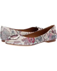500a3231216 Tory Burch - Caterina Ballet Flat (multi Happy Times) Women s Flat Shoes -  Lyst