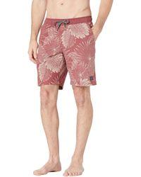 Linksoul Rustler - Boardwalker Volley Shorts Shorts - Red