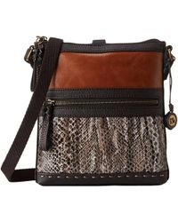The Sak - Pax Swing Pack (brown Snake Multi) Cross Body Handbags - Lyst