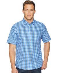 Mountain Khakis - Oxbow Crinkle Short Sleeve Shirt (neptune) Men's Clothing - Lyst