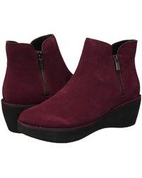 8dfa33c3e98 Kenneth Cole Reaction - Prime Bootie (burgundy) Women s Boots - Lyst