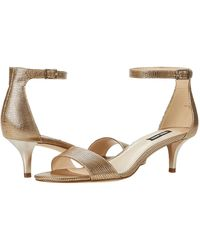 Nine West Leisa Heel Sandal - Metallic